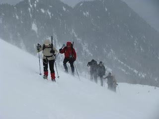 Corso Escursionismo in Ambiente Innevato 2011