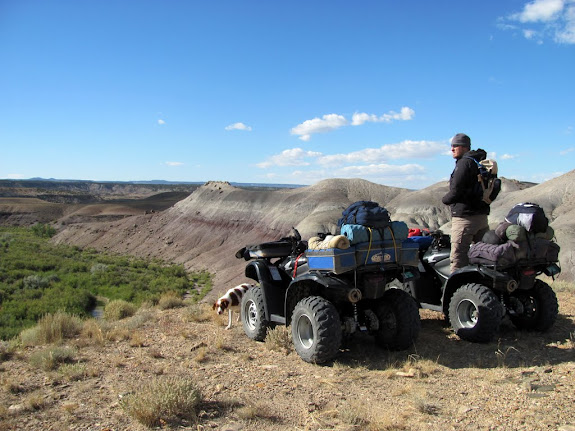 In the San Rafael Swell shortly after crossing over the Price River bridge