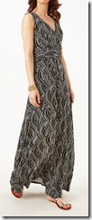 Phase Eight black and white print maxi dress