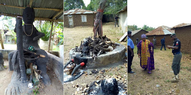 Osun State Police Uncover Two Ritualists' Dens In Iwo (Photos)
