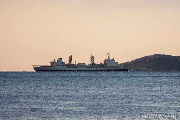 kiwi fueller HMNZS Endeavour