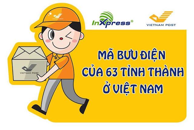 Mã Bưu Điện (Zip Code) Việt Nam – Tra Mã Bưu Chính Mới Nhất 2021