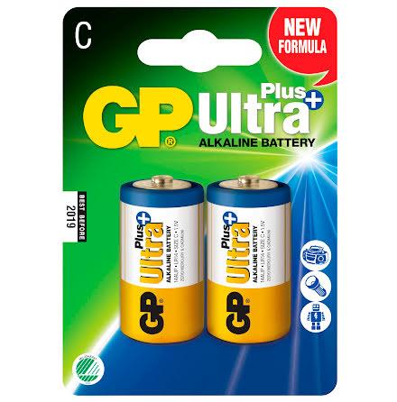 Batteri GP Ultra Plus C 2/fp