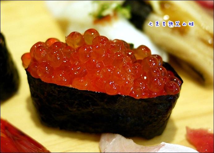 13 鮭魚卵可惜不夠飽滿