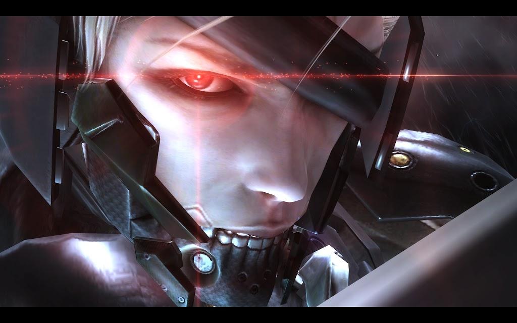 赤い瞳の雷電がかっこいい