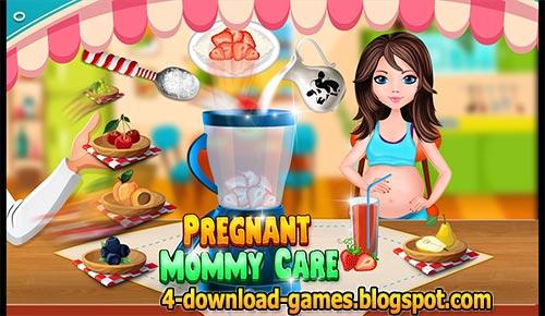 لعبة رعاية الام الحامل