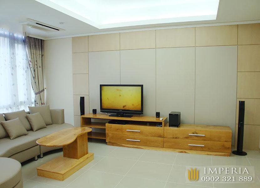 căn 2 phòng ngủ nội thất cực đẹp và sang trọng tại căn hộ Imperia An Phú