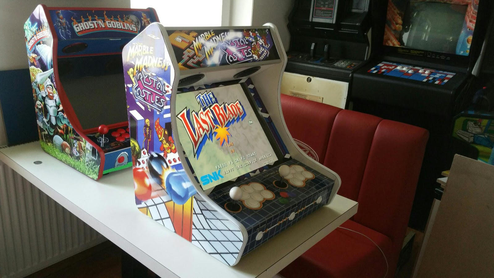 marble madness crystal castle arcadeforge bartop