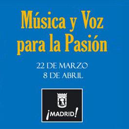 Programación Música y Voz para la Pasión 2012