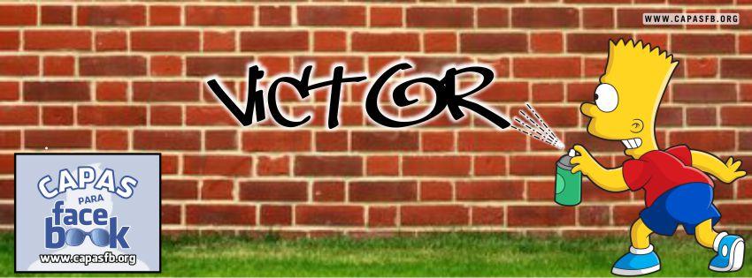 Capas para Facebook Victor