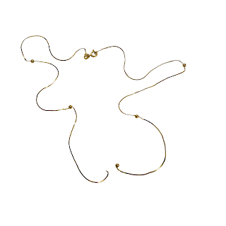 14K Gold Broken Necklace