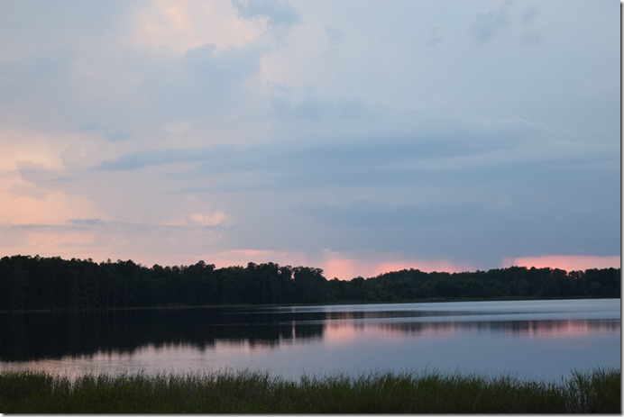 Sunset Storm at Lake Dixie-1