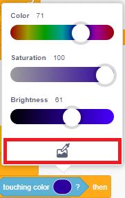 Gợi ý thiết lập màu
