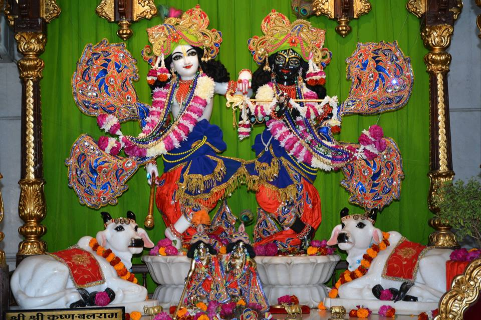 ISKCON Ujjain  Deity Darshan 22 Nov 2016 (2)
