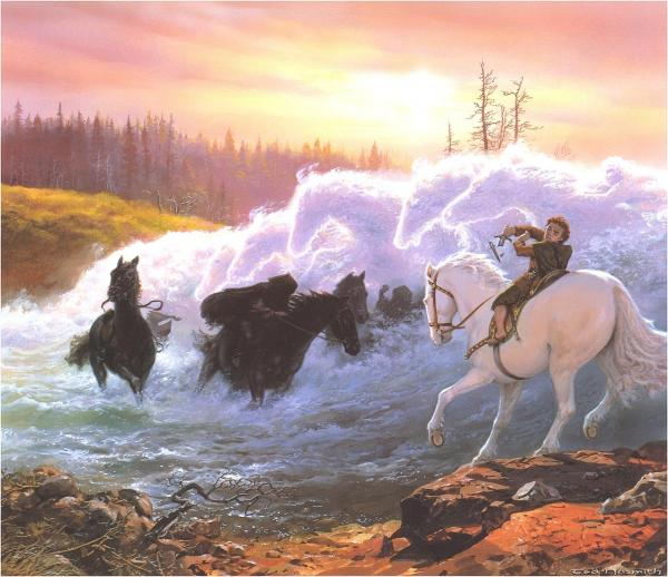 Elven Border, Magical Landscapes 1
