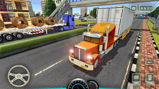 American truck driver simulator: USA Euro Truck 1.0 screenshots 2