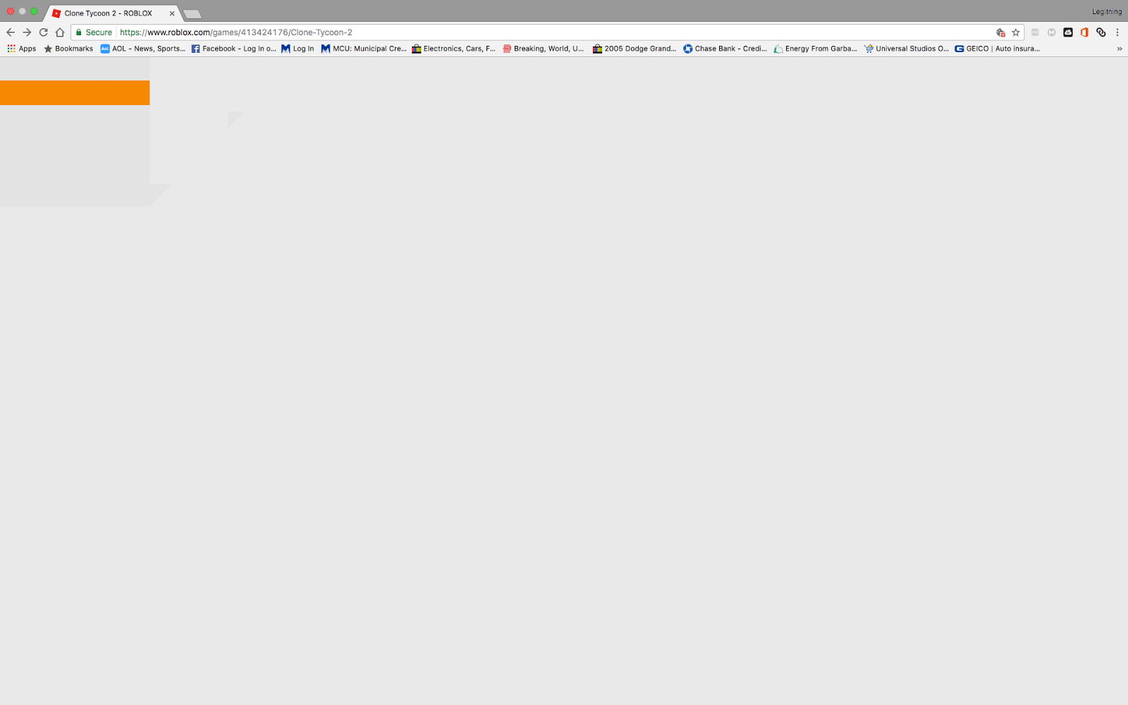 I have a problem with google chrome, it keeps on glitching