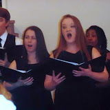 Concert van het Methodist University Choir