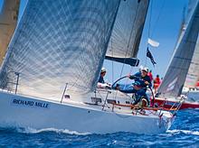 J/122 sailing Les Voiles St Barths