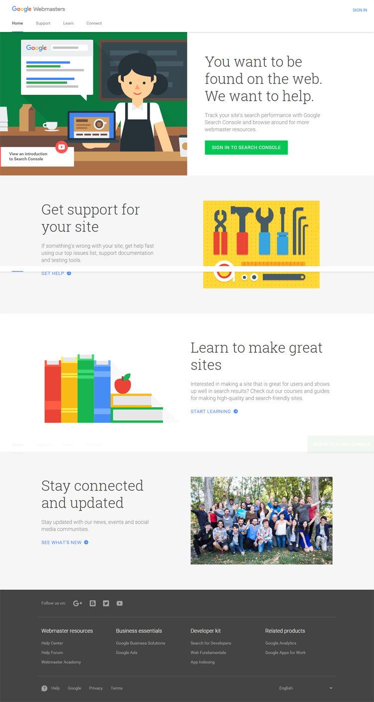 Tampilan Baru Google Webmaster