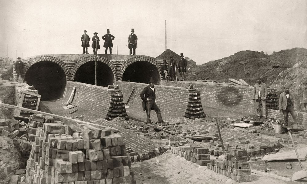 bazalgette-sewer-construction