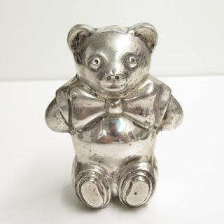 Tiffany & Co. Sterling Bear Rattle