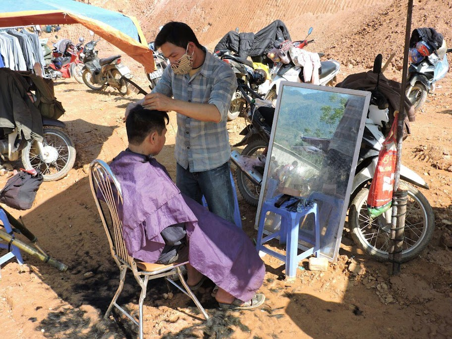 Mercado vietnamita Bac Ha, sudeste asiático. Ver todas las fotos.