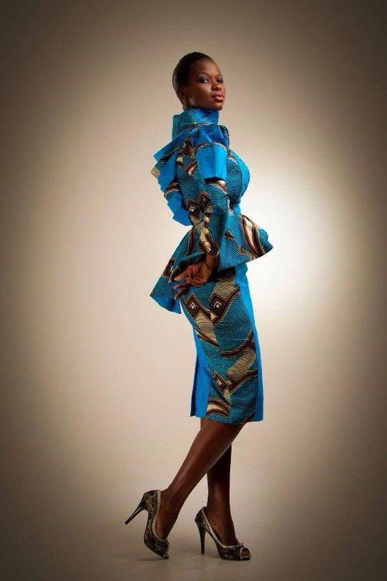 kitenge dress designs images 2017