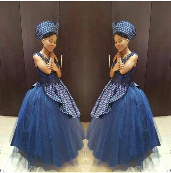 Designs Traditional Shweshwe Dresses 2019