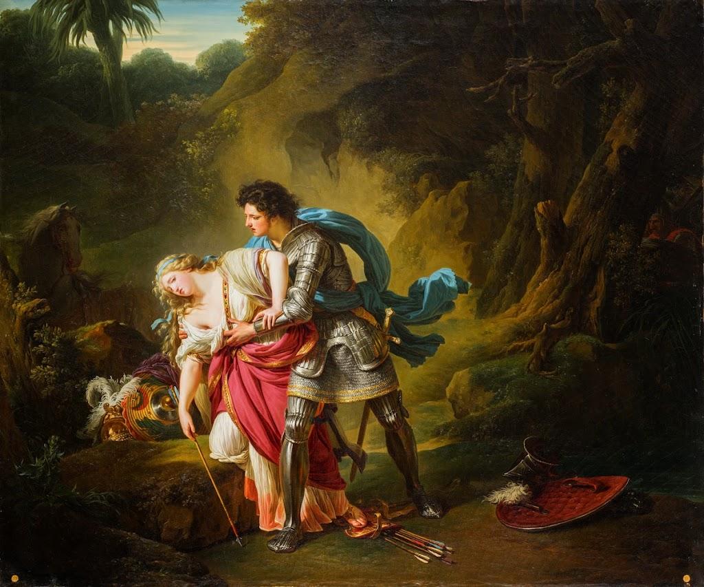 François-André Vincent - Rinaldo and Armida, 1787