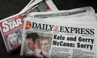 Spudgun's Spoutings:  Kate's Book Madeleine: No.1 in Bestseller FICTION list  Express-McCann-apology-005