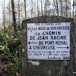Chemin Jean Racine : borne