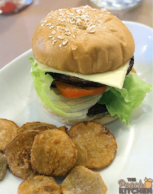 The New Max's Classic Chicken Burger