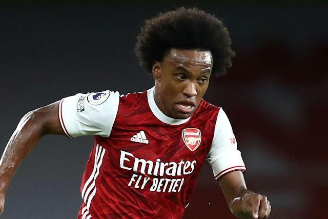 Willian Is Set To Dump Arsenal For Chelsea