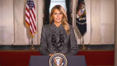 First Lady Melania Trump Releases Farewell Message (Video)