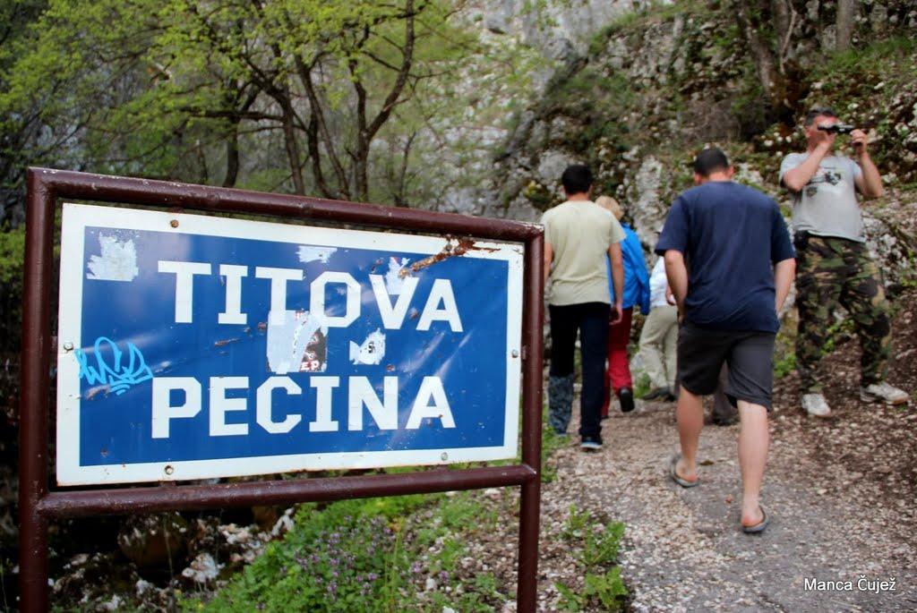 Za zaključek popoldneva dneva ogled Titove jame