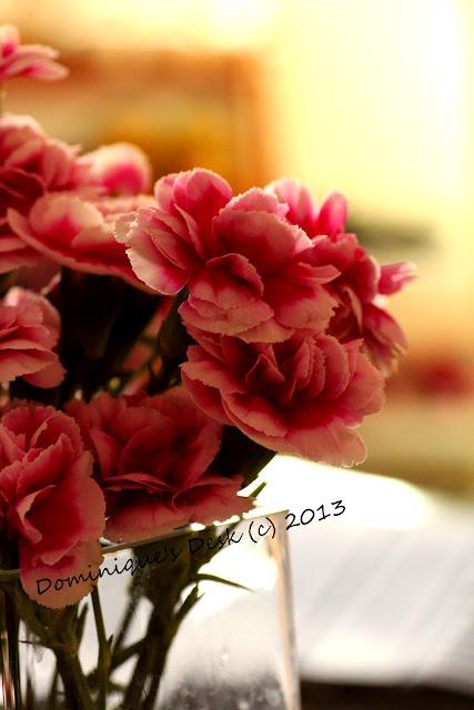 Pink blooms