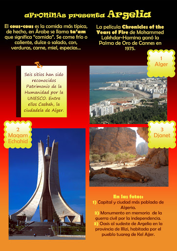 Un País de Africa Algeria