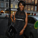WWW.ENTSIMAGES.COM -    Sinitta     arriving at LFW s/s 2014: Nina Naustdal - catwalk show at The May Fair Hotel, Stratton Street, London September 19th 2013                                                 Photo Mobis Photos/OIC 0203 174 1069