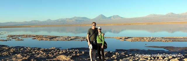 Us at Laguna Tebenquiche