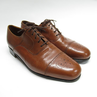 J.M Weston Brogue Oxfords