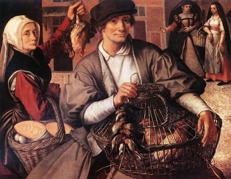 Pieter Aertsen - Market Scene