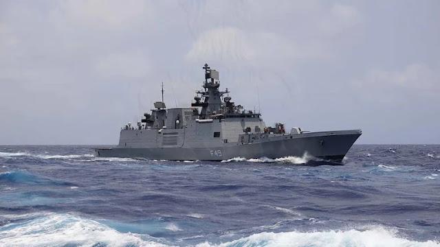 """""""Samudra Shakti"""": Indian-Indonesian Navy Take Part in Maritime Exercise"""