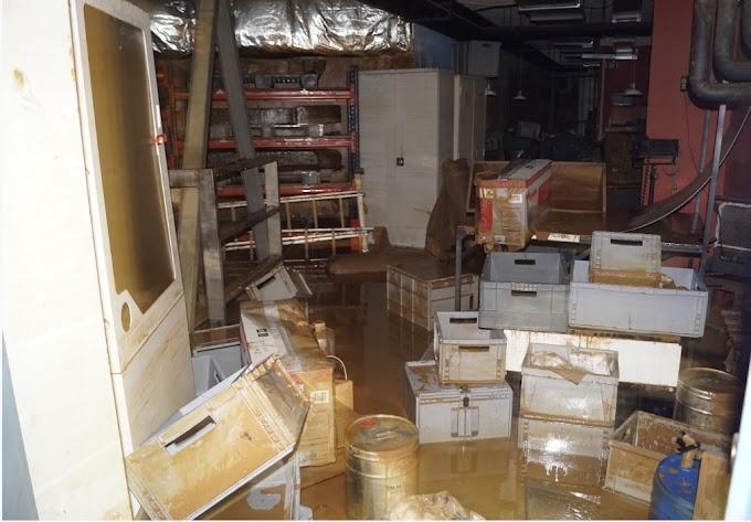 Οι ζημιές στο Αρχαιολογικό Μουσείο Καρδίτσας