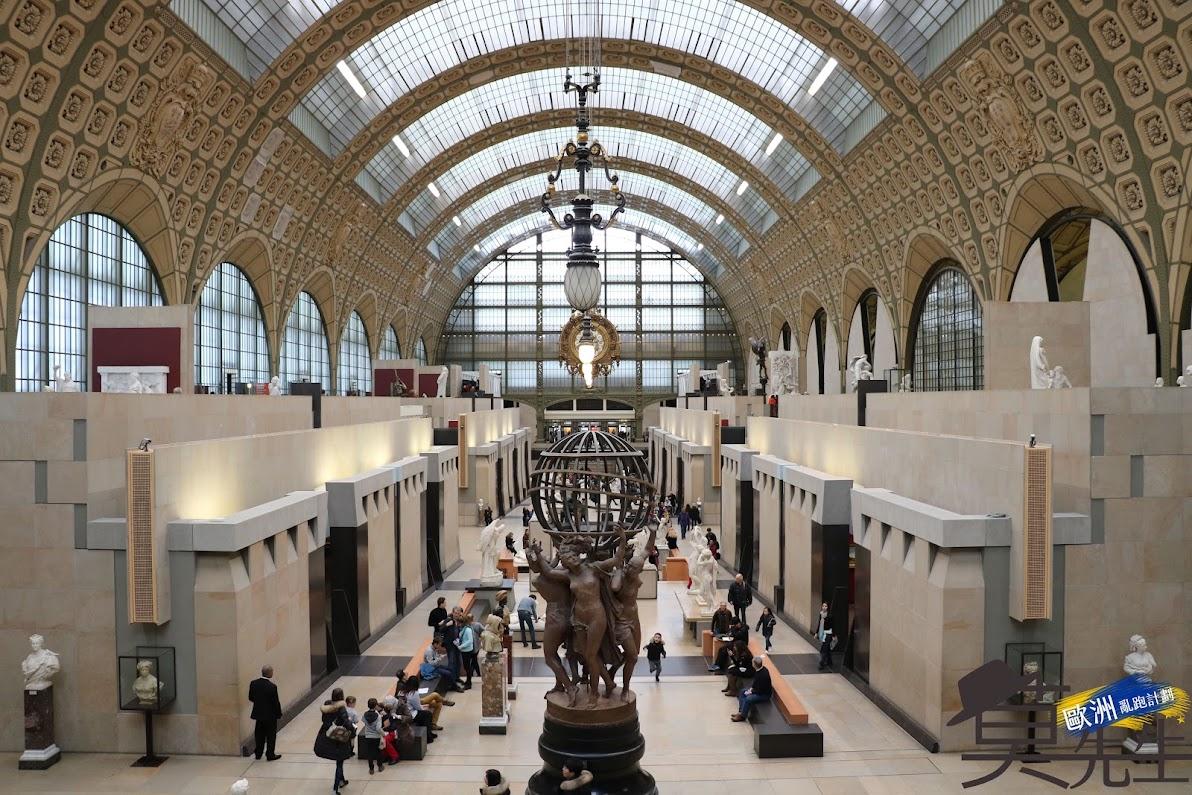 巴黎散步路線 | 奧賽美術館 、萬神殿