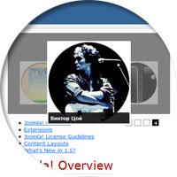 Art Feature Carousel - модуль для создания слайдера изображений