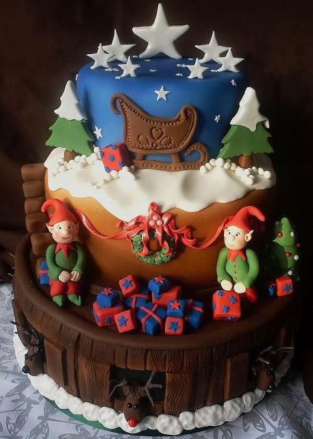 amazing christmas cake decorating ideas   styles 7