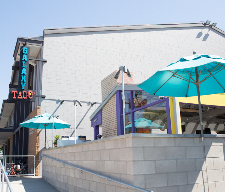 photo of the outside of Galaxy Taco
