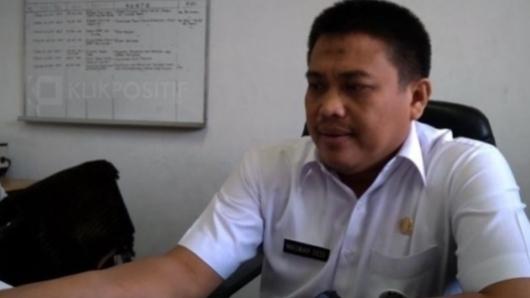 Foto Maswar Dedi, Kepala DPMPTST Sumbar. Pelaku Usaha Mendukung Lahirnya UU Omnibus Law.
