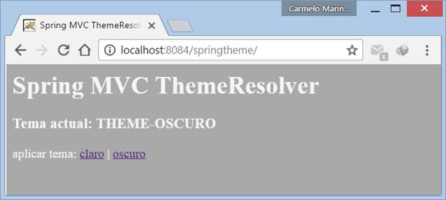 Spring MVC ThemeResolver